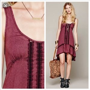 Free people slip dress. XS💜.